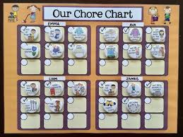 Multiple Child Chore Chart Family Magnet Chore Chart Multiple Child Responsibility Chart Kids Magnet Chore Chart Children Regular Or Personalized