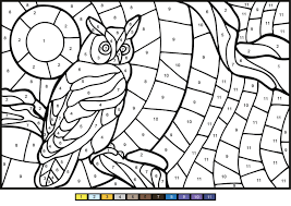 We are adding new owl pictures every day so that you can view as many beautiful photographs as possible. Owl Color By Number Coloring Page Free Printable Coloring Pages For Kids