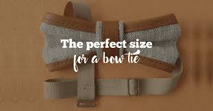 Basic Bow Tie Guide To Make Sure You Find The Perfect Size