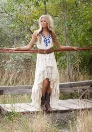 ivory high low country wedding dress on the hunt