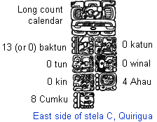 Image result for long count calendar