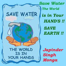 earth awareness save water the world is your hand s save save water the world is your hand s save earth