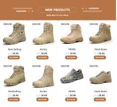 <b>COOLVFATBO</b> Military Tactical <b>Boots</b> For <b>Men</b> Leather Outdoors ...