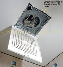 bathroom fan ducting. The Old And Noisy Contractor-grade Bathroom Fan Ducting