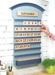 wooden perpetual wall calendar wood forever never ending handmade kit how to make a endi perpetual