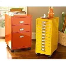 colored file cabinets.  File Glamorous Fun Filing Cabinets Yellow And Orange Painted File Home  Office Organization Bright Color Pop To Colored File Cabinets C