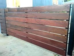 horizontal wood slat fence. Delighful Horizontal Horizontal Wood Slat Fence Wooden Slats Fencing  Lowes F Intended L