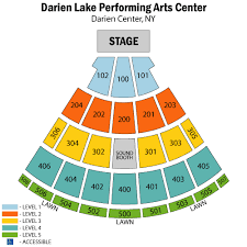 Darien Lake Performing Arts Center Seating Chart Darien Center Concerts Abc Auto Parts Tyler Tx