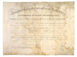 diploma of first african american harvard graduate is being  image courtesy of leslie hindman auctioneers