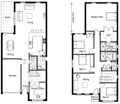 2 story house plans master bedroom downstairs awesome free floor