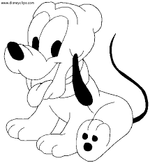 Small Picture BabyDisneyColoringPages Mickey Mouse and friends Coloring