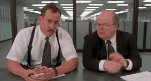 Office spaxe Pc Load Letter Tags Work Office Office Space Rotten Tomatoes What Would You Say You Do Here Office Space Gif Find Share On Giphy