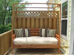 Diy Outdoor Daybed Cool Outdoor Daybed With Canopy White Outdoor ...