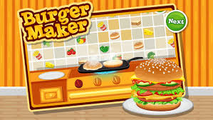 fast food maker burger maker fast food cooking game for boys and girls on the app