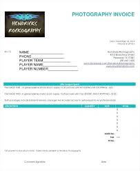 Photography Invoices Photography Invoice Free Photography Invoice ...