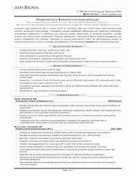 What Is A Pharmaceutical Sales Rep Pharmaceutical Sales Resume Sample Fresh 20 Sales Rep Resume Example