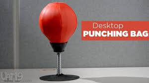 Office Ball Desktop Punching Bag Youtube