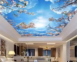 Mznm Custom 3D Blue sky white clouds ...