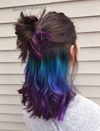 Green Blue Purple Ombre Under Later
