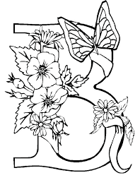 Butterflies And Flowers Coloring Pages Best Of Free Printable Flower