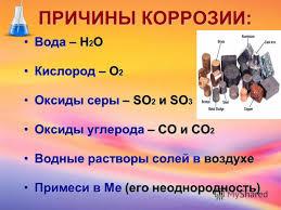 Коррозия металлов С химией по жизни Коррозия реферат по химии 8 класс