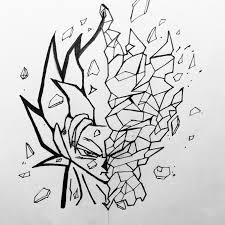 draw geometric dbz drawings