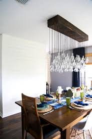 How To Make A Light Fixture With Multiple Bulbs Diy Multi Bulb Dining Room Chandelier Love Renovations