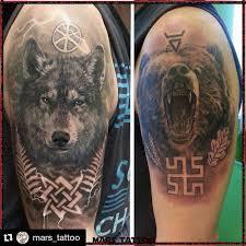 славянские и скандинавские татуировки эскизы татуировок