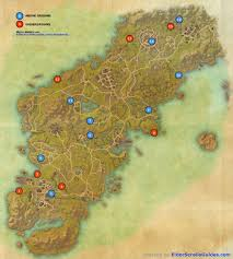 glenumbra skyshards map  elder scrolls online guides