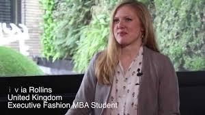 Olivia Rollins Executive Fashion MBA Student - ISEM - YouTube