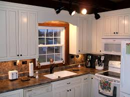 off white kitchen cabinets color scheme