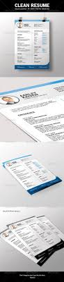 39 Best Photoshop Resume Templates Images On Pinterest Cleanses