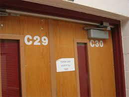 interior school doors. (3) Interior Doors Labeled In A School. School P