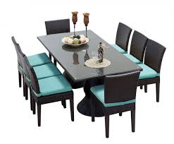 creative of rectangular outdoor dining table saturn rectangular outdoor patio dining table with 8 chairs 2 for