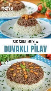 Duvet Pilaf - Yeliz's Sweet Cuisine - Delicious Recipes- Duvaklı Pilav  – Yeliz'in Tatlı Mutfağı – Nefis Yemek Tarifle… | Yummy lunches, Recipes,  Cuisine recipes