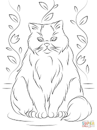 Small Picture Himalayan Cat coloring page Free Printable Coloring Pages