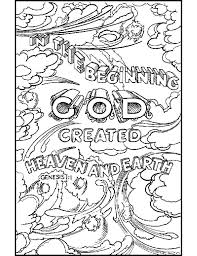 Creation Coloring Pages For Sunday School Ash Wednesday Preschool