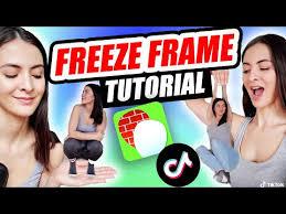 how to use freeze frame effect on tiktok
