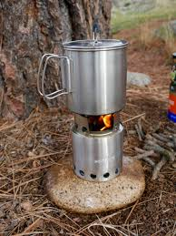 stove lite. solo stove with pot lite