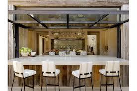 glass garage doors kitchen. Indoor Outdoor Seating. Glass Garage Doors Kitchen O