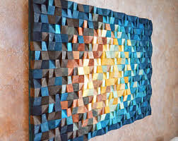 wood wall art the universe reclaimed wood art 3 d wall art decor wood mosaic wood sculpture abstract painting on 3 dimensional wall art with 3d wall art etsy