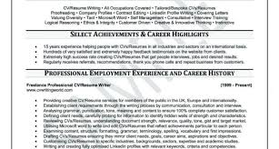 Best Resume Writing Company Resume Template