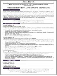 Administrative Coordinator Resume Examples Trisamoorddinerco Best Administrative Coordinator Resume