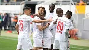 Petrocub - Sivasspor  Maçta ilk yarı