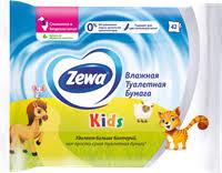 <b>Туалетная</b> бумага ZEWA <b>детская влажная</b> – купить в сети ...