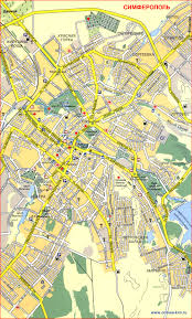 <b>План города Симферополь</b>