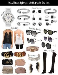 Designer Gifts Designer Gifts For Her Dressed To Kill Fashion What A