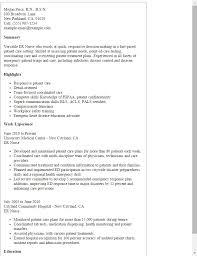 Er Charge Nurse Sample Resume Custom 48 New Emergency Room Nurse Resume Badsneakernet