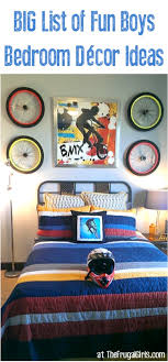 Boys Bedroom Decor Ideas At TheFrugalGirls.com