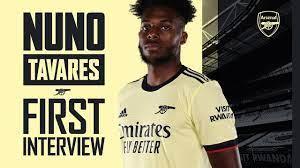 Welcome to Arsenal, Nuno Tavares ...
